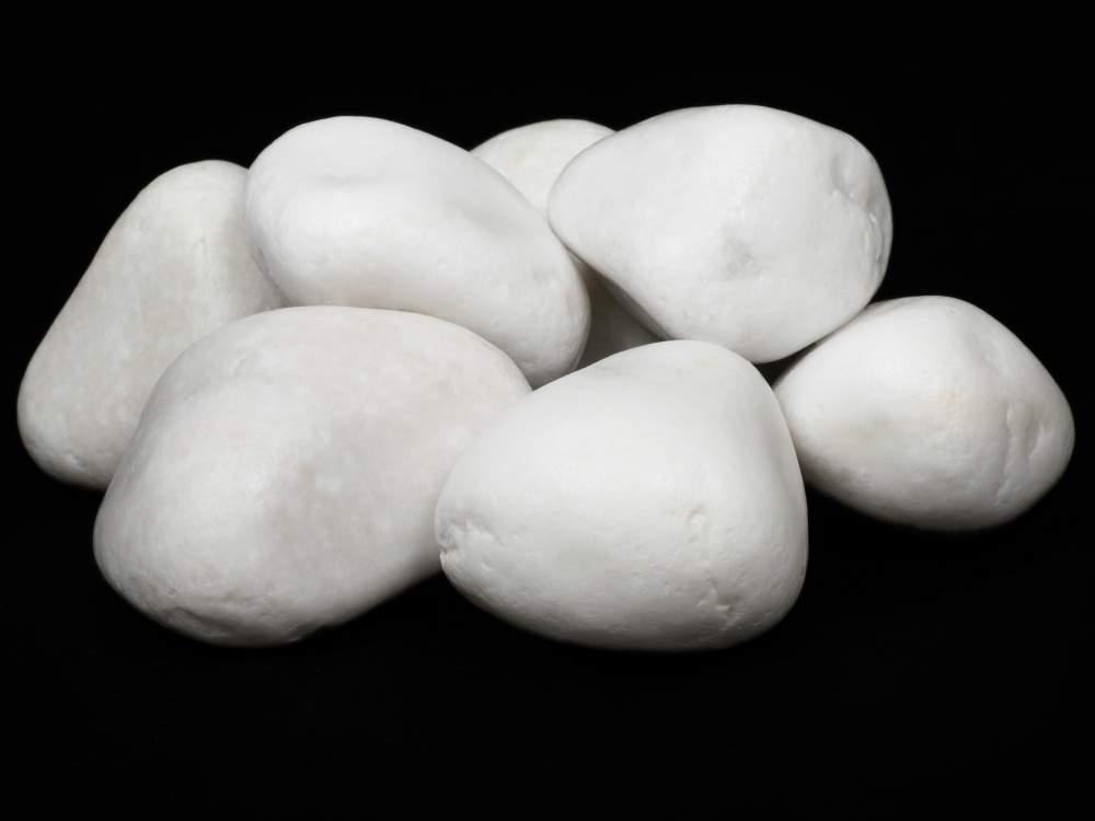 Αγορά Λευκό βότσαλο 1-2cm, 2-4cm, 4-8cm