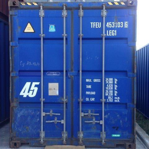Αγορά 45' Container- εμπορευματοκιβώτιο