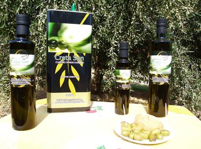 Αγορά Creta Sun Extra Virgin Olive Oil σε φιαλες 250ml-500ml-750ml 5 λίτρα Τενεκές