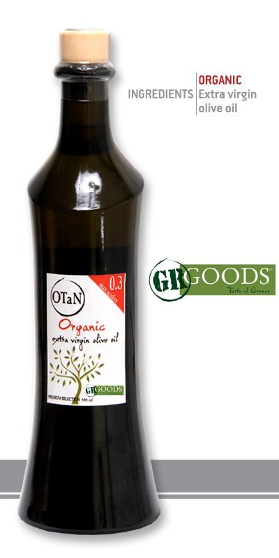 Αγορά Organic Extra Virgin Olive Oil OTaN ARC 500ml 0.3 acidity