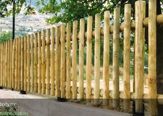 Αγορά Κλασικός ξύλινος φράκτης με τη χρήση άριστης ποιότητας εμποτισμένης ξυλείας