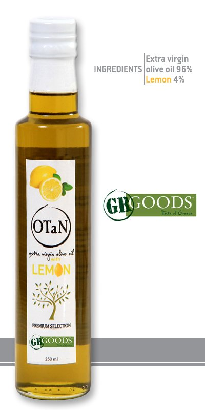 Αγορά Lemon Seasoned extra virgin Olive Oil, 250ml, 0.3 acidity