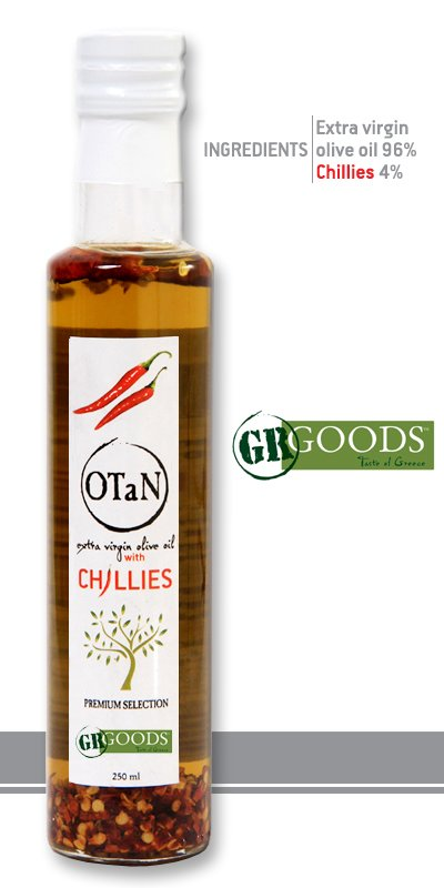 Αγορά Chilly Seasoned extra virgin Olive Oil, 250ml, 0.3 acidity