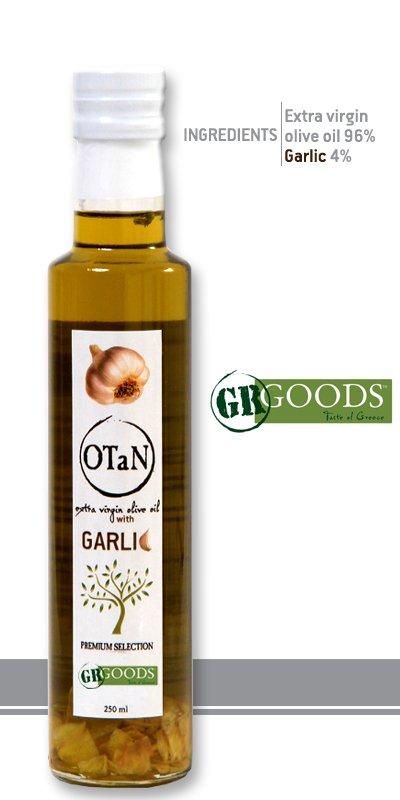 Αγορά Garlic Seasoned extra virgin Olive Oil, 250ml, 0.3 acidity