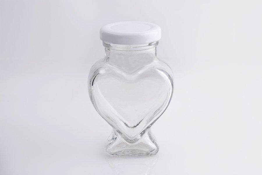 Αγορά Βάζο για γάμο και βάπτιση σε σχήμα καρδιάς 106 ml