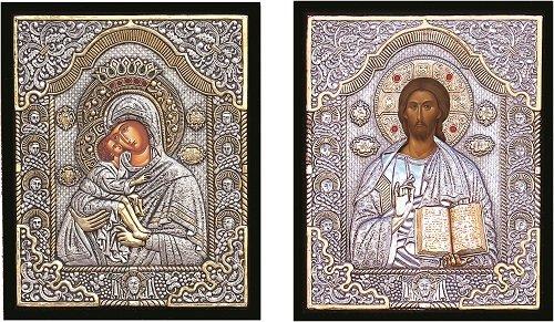 Αγορά Βυζαντινές εικόνες επάργυρες