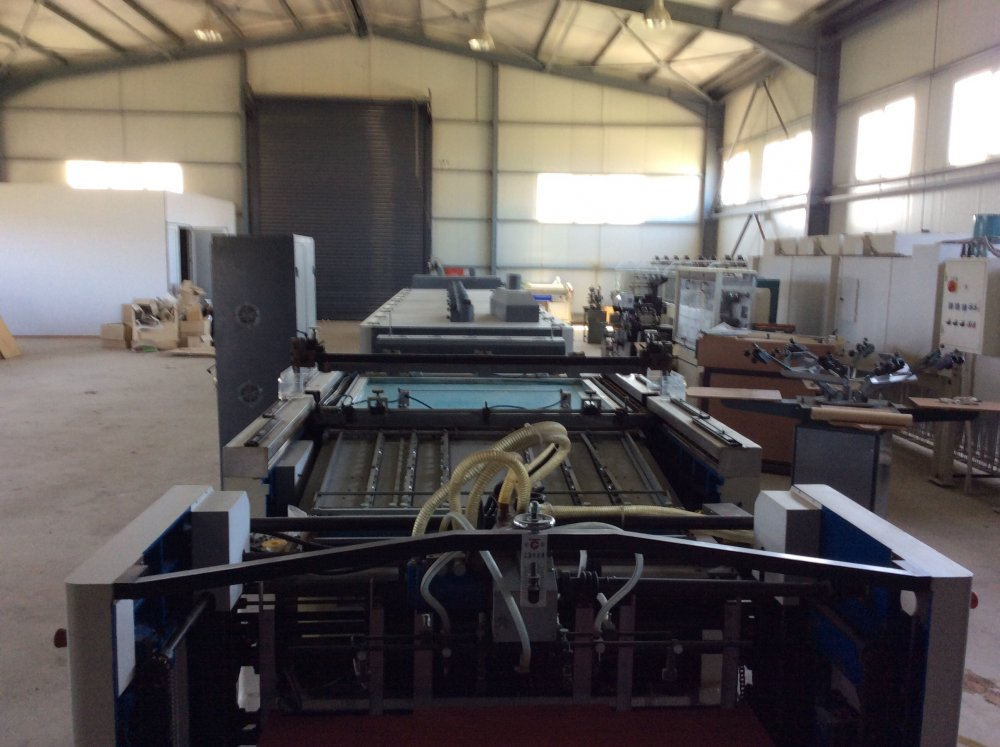 Αγορά Rotary screen printing line with uv and infrared