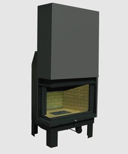 Αγορά Το ενεργειακό τζάκι Kombi ta είναι ένα πρωτότυπο και πρωτοποριακό στη σχεδίαση και λειτουργία τζάκι κεντρικής θέρμανσης, το οποίο επιτυγχάνει μεγαλύτερο βαθμό απόδοσης από τα συμβατικά τζάκια.