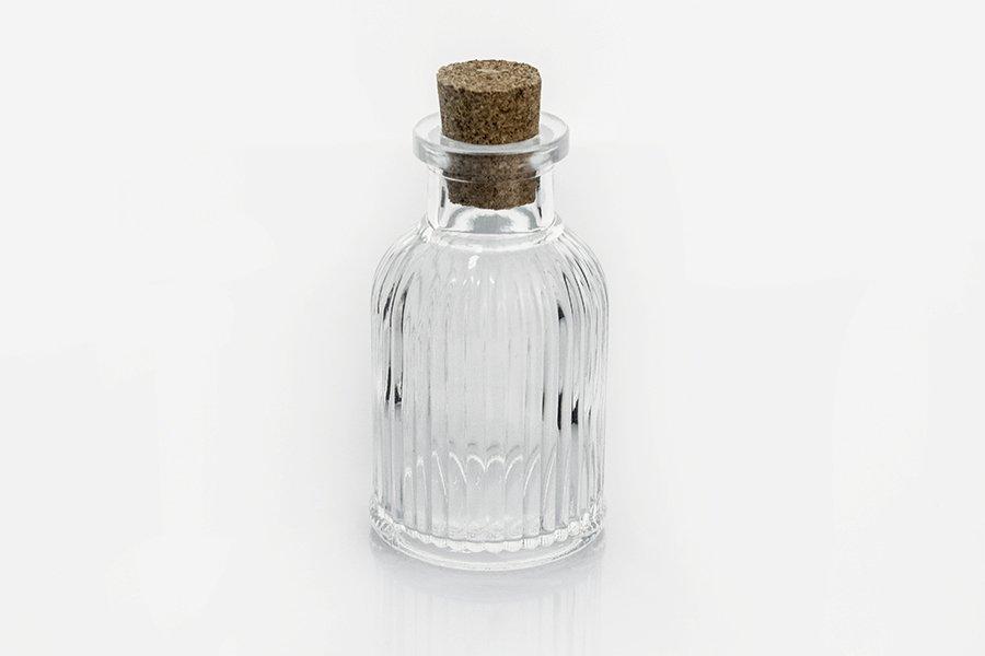 Αγορά Μπουκαλάκι 50 ml με ραβδώσεις με φελλό 86/18