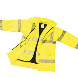Αγορά Tζακετ με γιλέκο με πολυουρεθάνη σε κίτρινο ή πορτοκαλί χρώμα