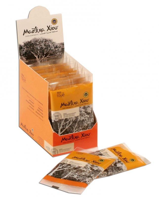 Αγορά Φυσική Μαστίχα χίου Chios Natural Mastiha (Gum Mastic) Medium Tears 10gr