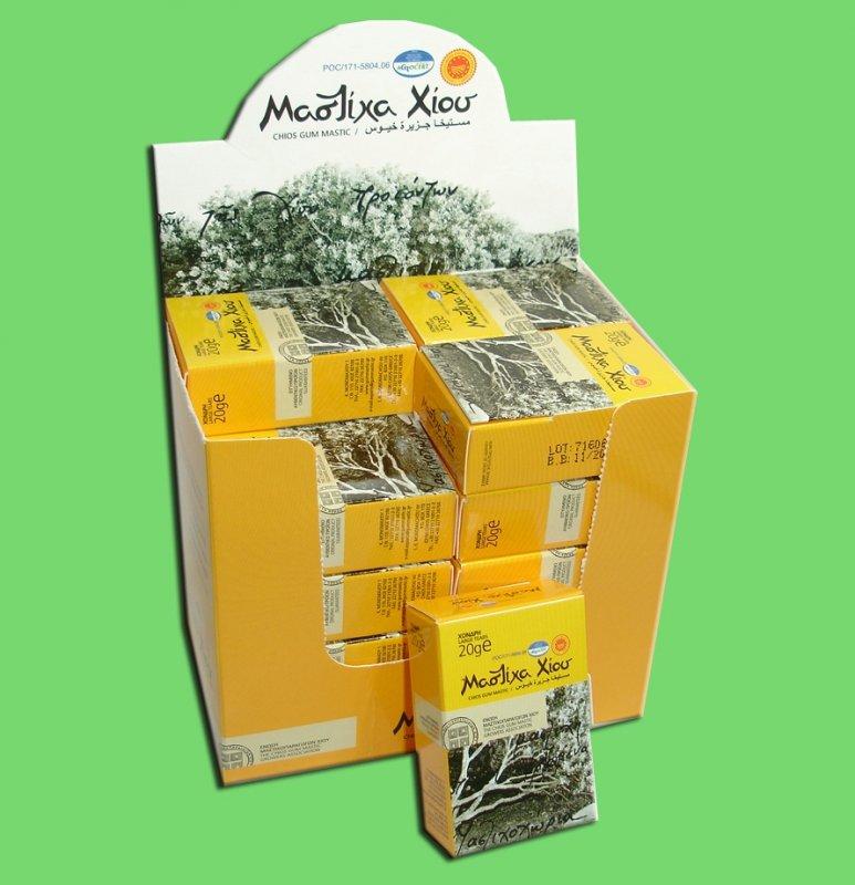 Αγορά Φυσική Μαστίχα Χίου Chios Natural Mastiha (Gum Mastic) Large Tears 20gr