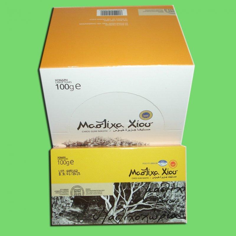 Αγορά Φυσική Μαστίχα χίου Chios Natural Mastiha (Gum Mastic) Large Tears 100gr