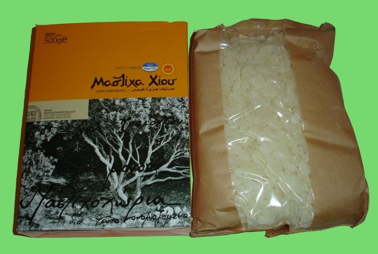 Αγορά Φυσική Μαστίχα Χίου Chios Natural Mastiha (Gum Mastic) Medium Tears 500gr
