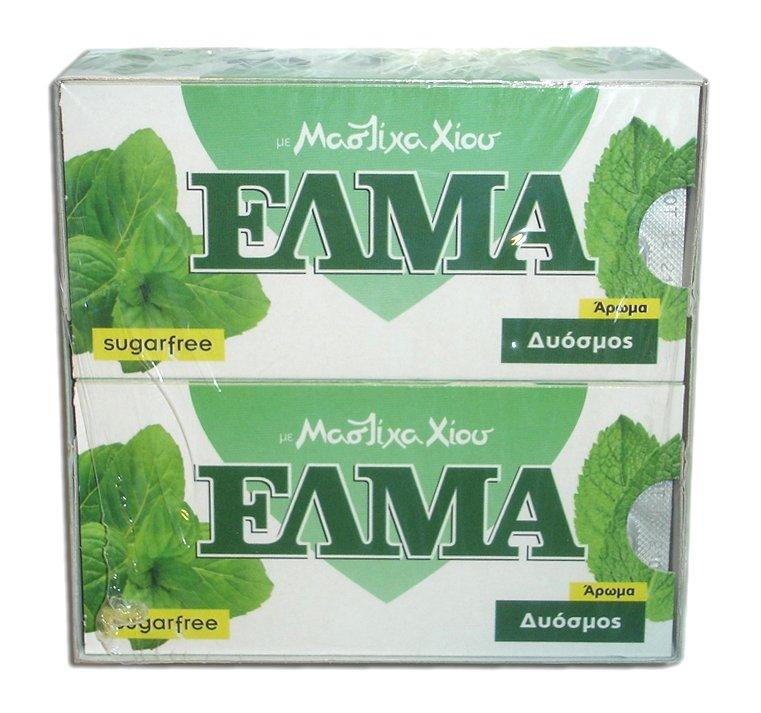 Αγορά Τσίκλα Χίου ΕΛΜΑ με άρωμα δυόσμου (ELMA sugar free chewing gum with mastic and spearmint flavor)