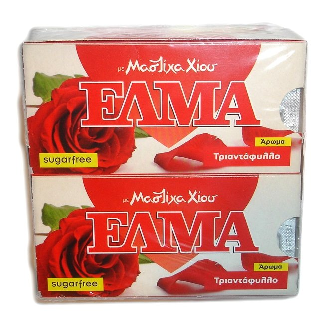 Αγορά Τσίκλα Χίου ΕΛΜΑ (ELMA sugar free chewing gum with mastic and rose flavor)