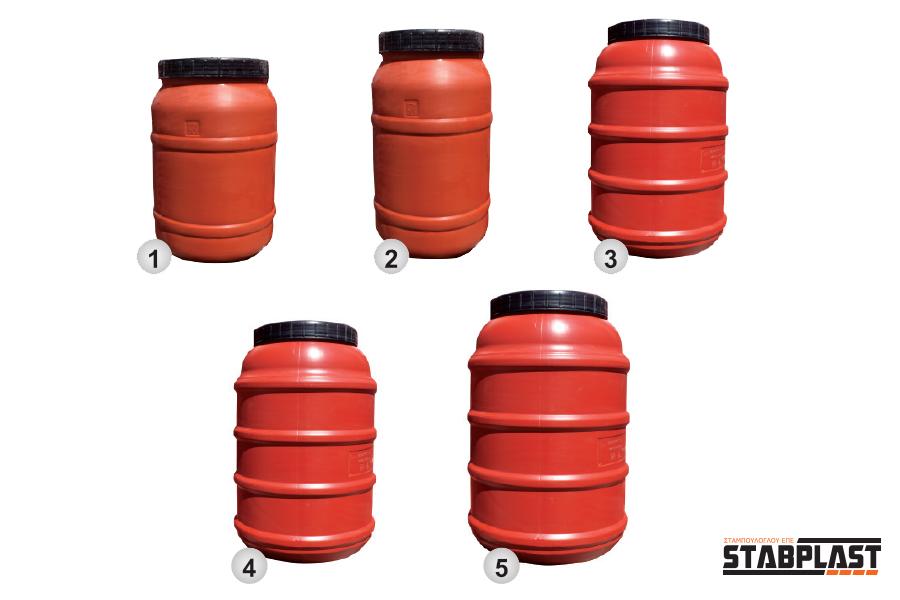 Αγορά Βαρέλια πλαστικά 100 Lt - 200 Lt