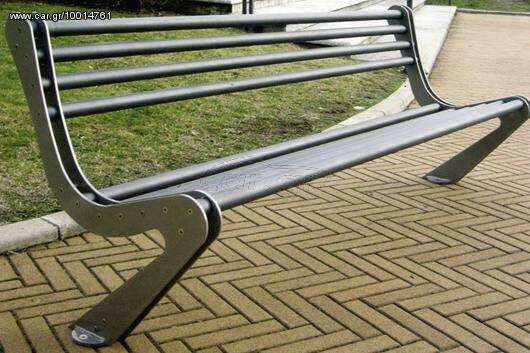 Αγορά Bench From cast IRON- Μεταλλικό χαλύβδινο παγκάκι Νο 15