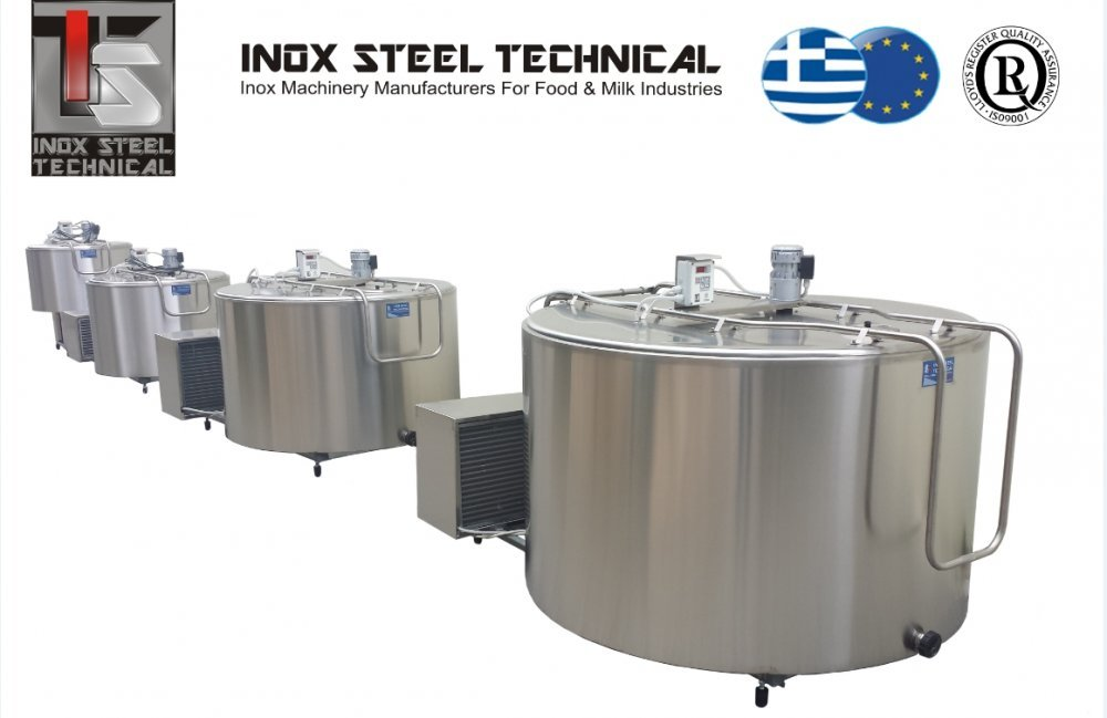 Αγορά Συντηρητές Γάλακτος Inox Steel Technical