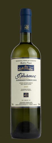 Αγορά Κορινθιακός τοπικός, λευκός ξηρός οίνος ΦΛΙΑΣΙΟΣ