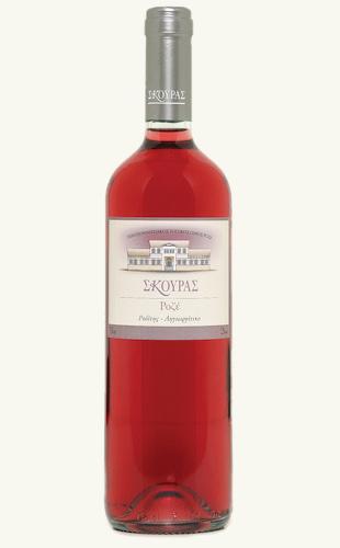 """Αγορά Ξηρός ροζέ πελοποννησιακός οίνος """"Σκούρας Ροζέ"""""""
