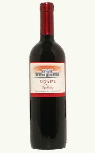 """Αγορά Ξηρός ερυθρός πελοποννησιακός οίνος """"Σκούρας Ερυθρός"""""""