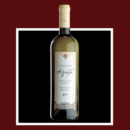 """Αγορά Λευκός ξηρός οίνος """"Αμπελώνες"""""""