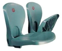 Αγορά Καθίσματα Σταδίω δύο τύπους Albany (πτυσσόμενο) και Unity(ενιαίο)