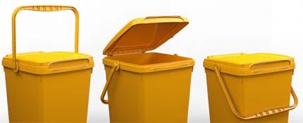 Αγορά Οικιακοί Κάδοι απορριμμάτων με χωρητικότητες από 28 έως 50 λίτα