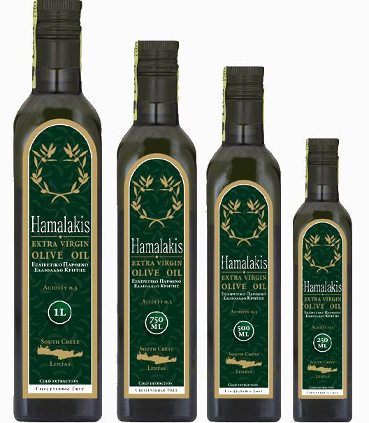 Αγορά Ελαιολαδο σε Γυάλινο μπουκάλι 60 ml, 100 ml, 250 ml, 500 ml, 750 ml, 1 L