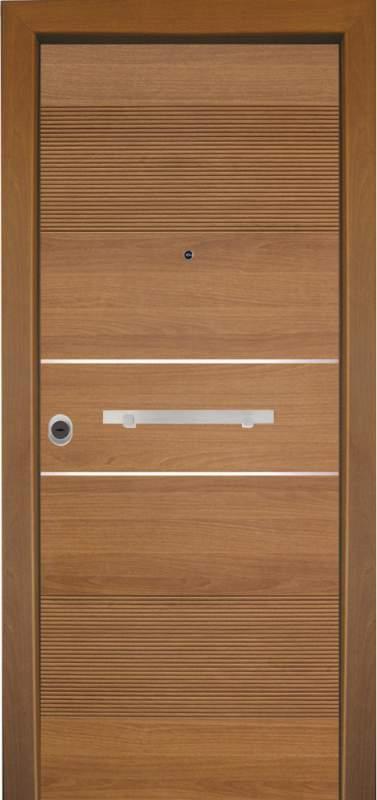 Αγορά Θωρακισμένες πόρτες με επένδυση ξύλου