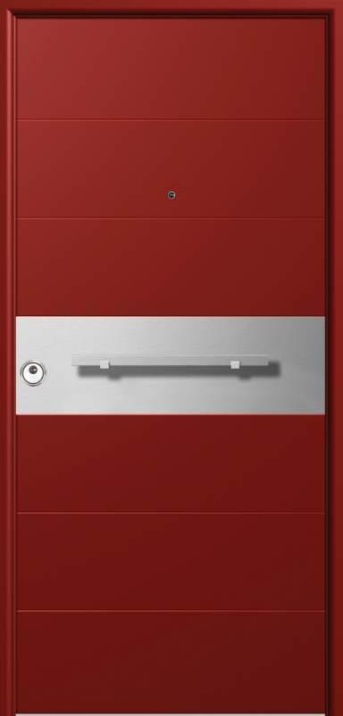 Αγορά Θωρακισμενες πορτες με επενδυση αλουμινιου & INOX