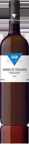 Αγορά Ερυθρό ξηρός οίνος Merlot με διακριτικές νότες βανίλιας ξύλου