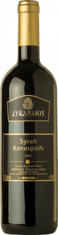 Αγορά Ερυθρός οίνος,Λυραράκης Κοτσιφάλι - Syrah