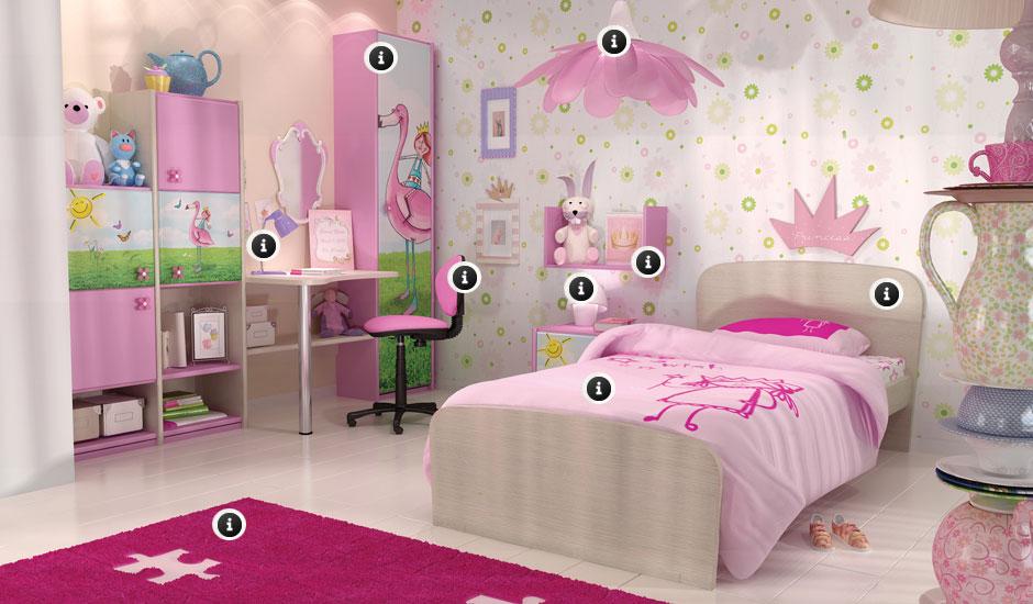 Παιδικό δωμάτιο χώρος ζωντανός χώρος