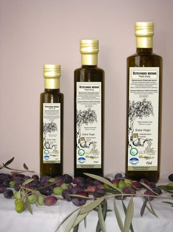 Αγορά Organic extra virgin olive oil ελαιολαδο παρθενο Pigi zois