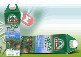 Αγορά Ελαφρύ γάλα μακράς διάρκειας ΤΥΡΑΣ από 100 Ελληνικό γάλα