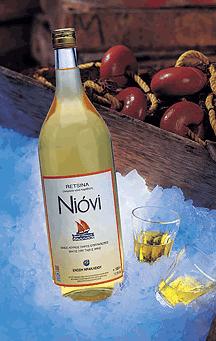 Αγορά Ρετσίνα «ΝΙΟΒΗ» λευκό ελληνικό κρασί από την Κρήτη