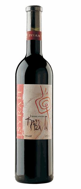 Αγορά Ξηρό ερυθρό κρασί SYRAH από την Κτήτη