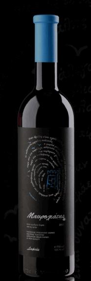 Αγορά Eρυθρό κρασί ΜΑΥΡΟΛΙΑΤΗΣ VPQRD από την Κρήτη