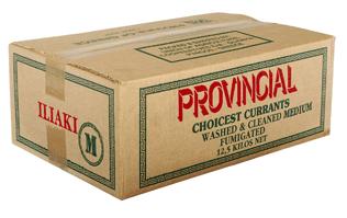 Αγορά Κορινθιακή Σταφίδα Ηλείας σε Κουτάκι 250gr, Κουτάκι 250gr BΙΟ, Χαρτοκιβώτιο 12,5kg