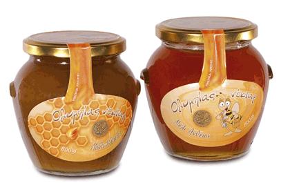Αγορά Ολυμπίας Νέκταρ μέλι Ελάτης