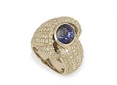 Δακτυλίδι λευκόχρυσο Κ18 pave diamonds (brillant