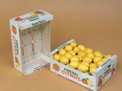 Κιβώτια εξαγωγής φρούτων