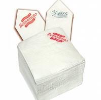 Χαρτοπετσέτες απλές, τυπωμένες χαρτοπετσέτες