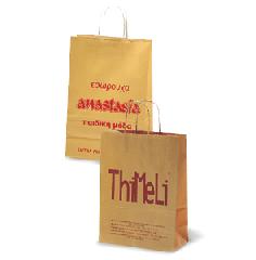 Χάρτινη τσάντα Natural Strip
