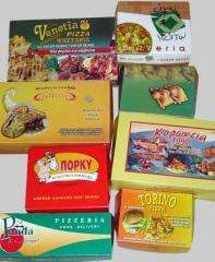 Κουτιά  για τοποθέτηση τροφίμων
