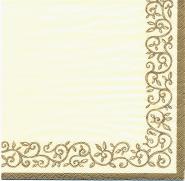 Χαρτοπετσέτα ROMANTIC GOLD-IVORY