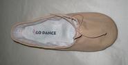 Υφασμάτινο Παπούτσια Μπαλέτο με split σόλα