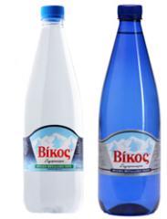 Βίκος φυσικό μεταλλικό νερό 1,0 L blue